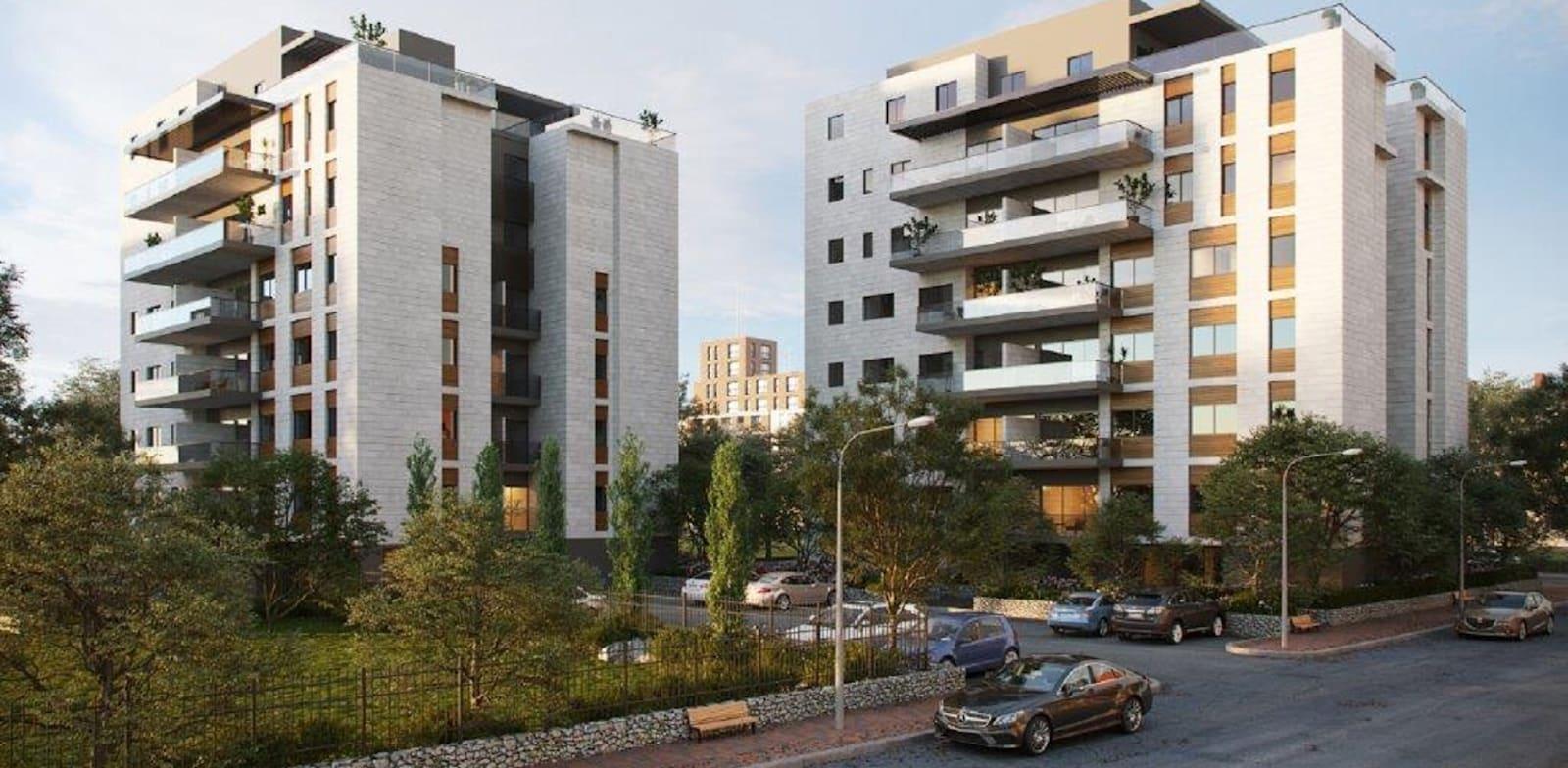 רחוב קורצ'אק 5–7, קריית אונו / צילום: זיתוני הדמיות אדריכליות