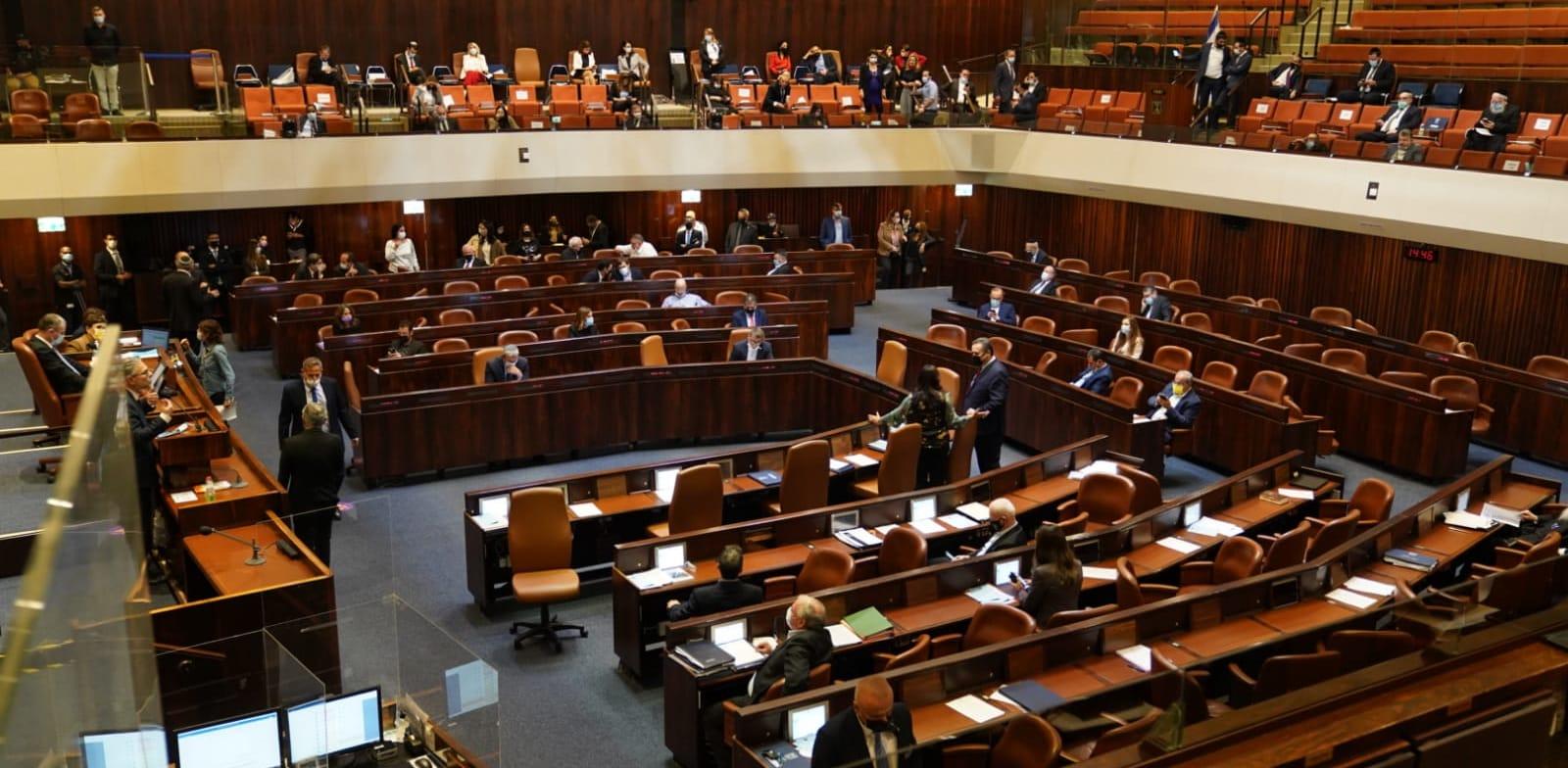 הצעות החוק לפיזור הכנסת צפויות לעלות בדקות הקרובות / צילום: דני שם טוב - דוברות הכנסת