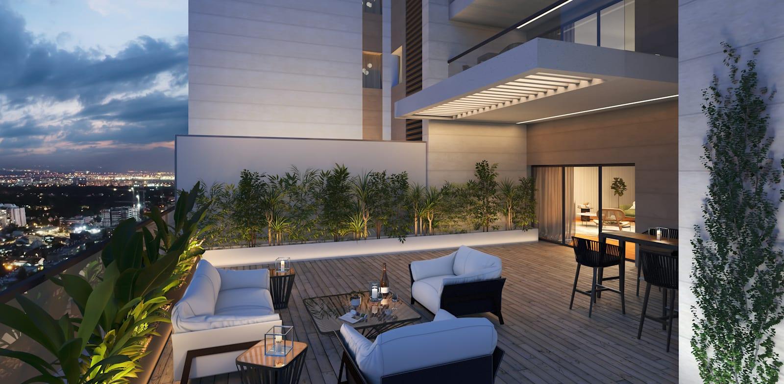 בגלל הקורונה הרוכשים מעוניינים במרפסות מרווחות / הדמיה: ViewPoint