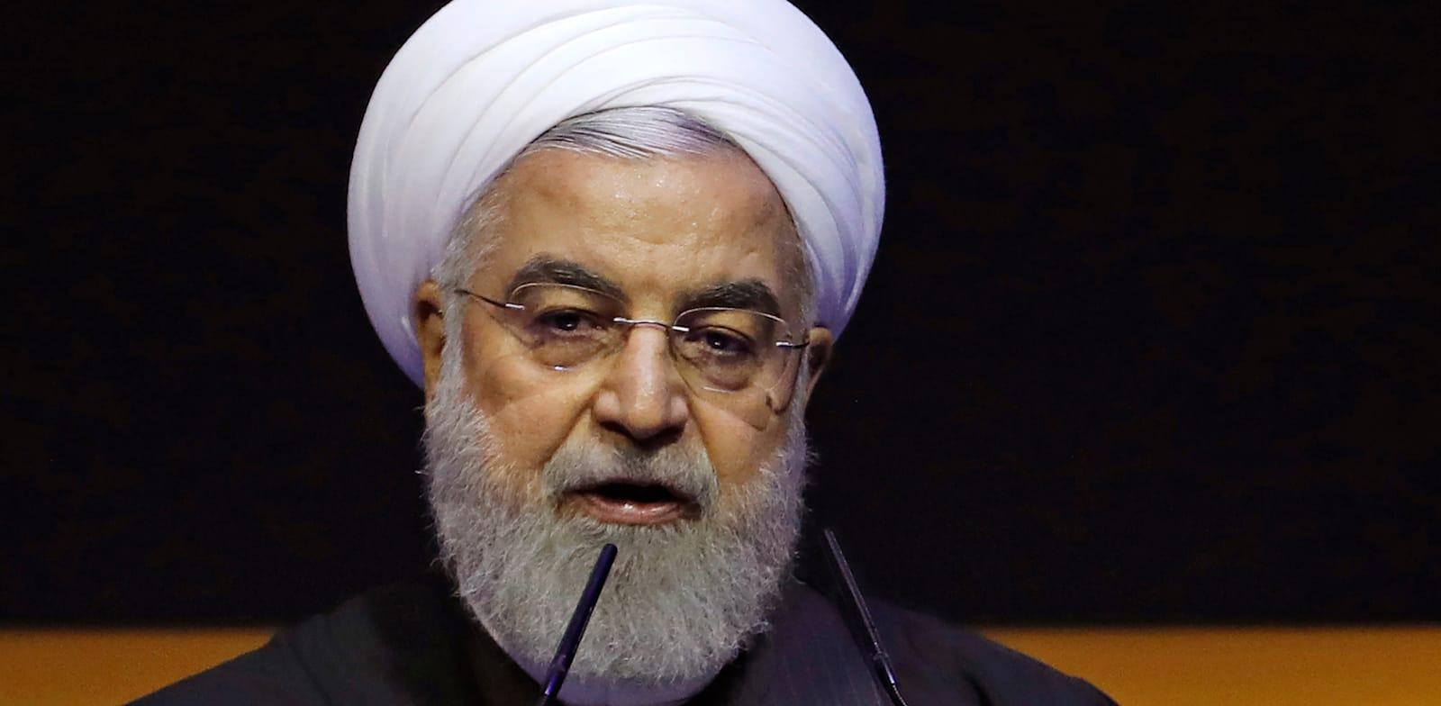נשיא איראן חסן רוחאני. משחקי חתול ועכבר עם הרשויות האמריקאיות / צילום: Lai Seng Sin