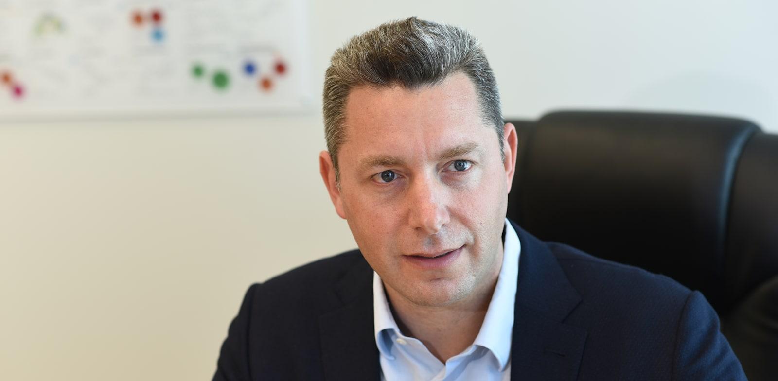 """עופר גונן, מנכ""""ל כת""""ב תעשיות ביוטכנולוגיות / צילום: ערן לביא"""