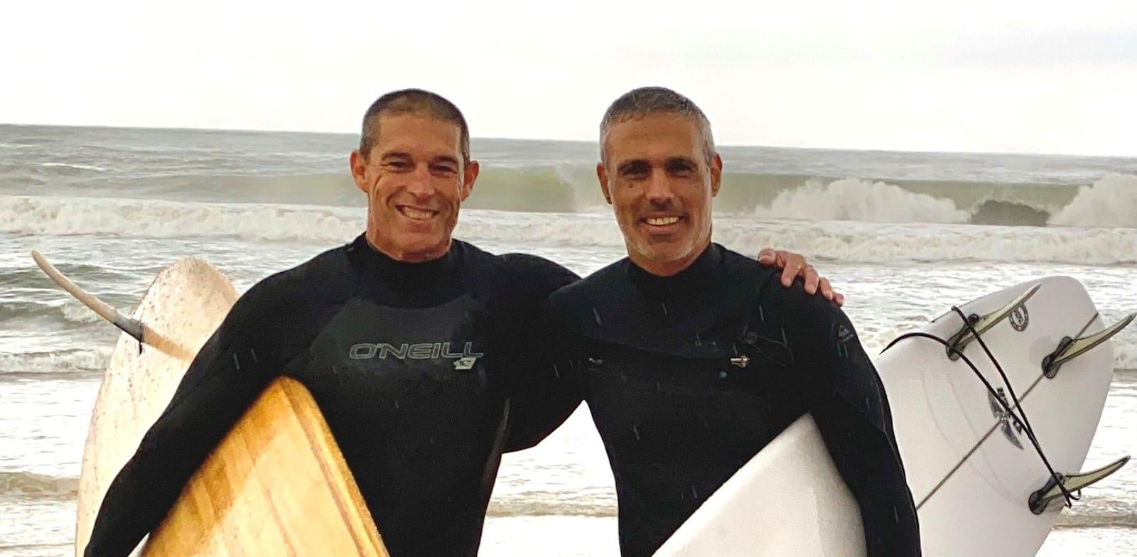 Gil Sadeh and Yoav-Izhar Prato. Credit: PR