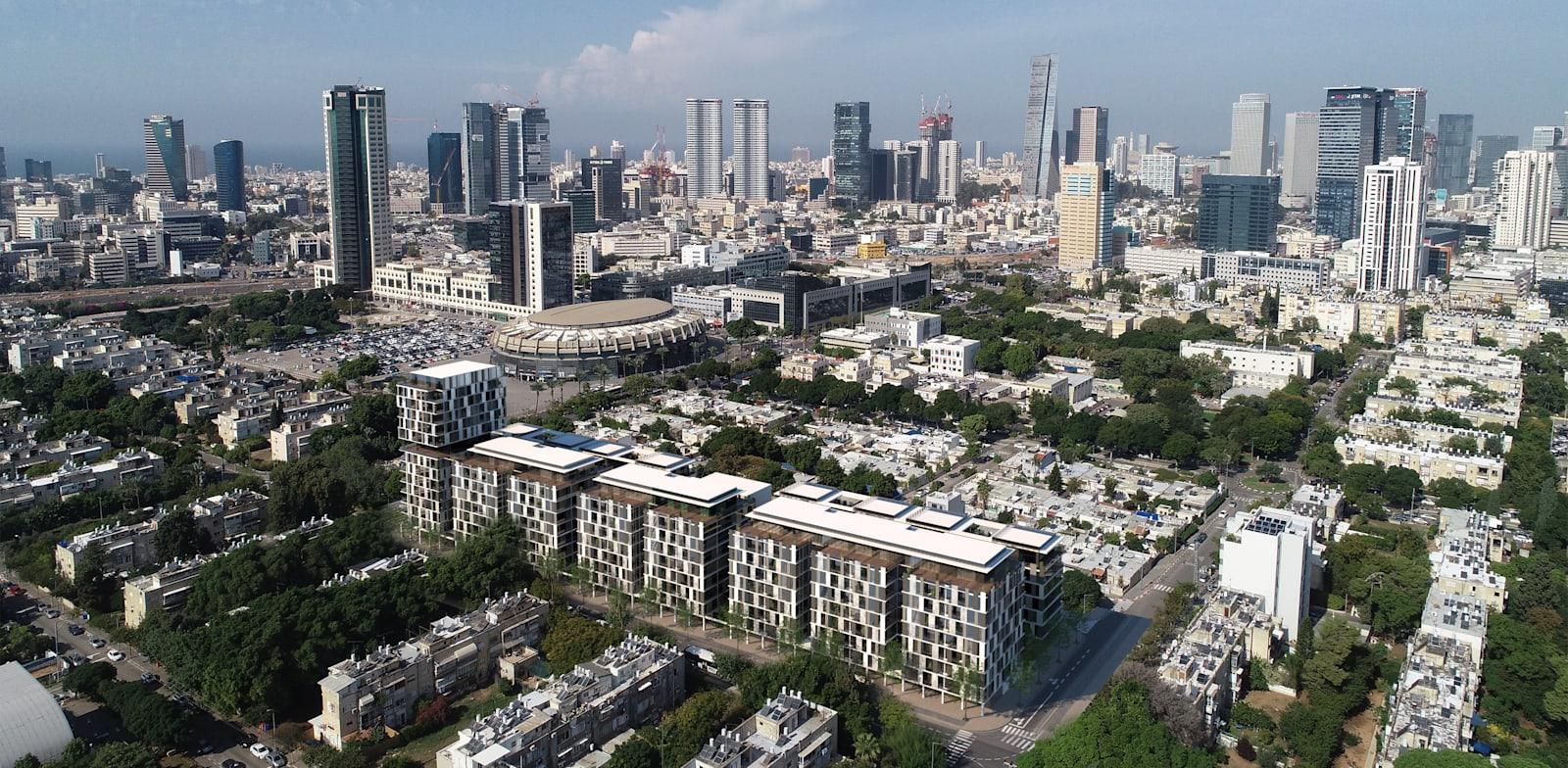 פרויקט לה גווארדיה תל אביב רוטשטיין / צילום: viewpoint