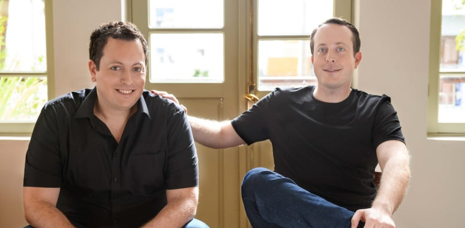 Michael and Daniel Gabay. Credit: Tom Bartov