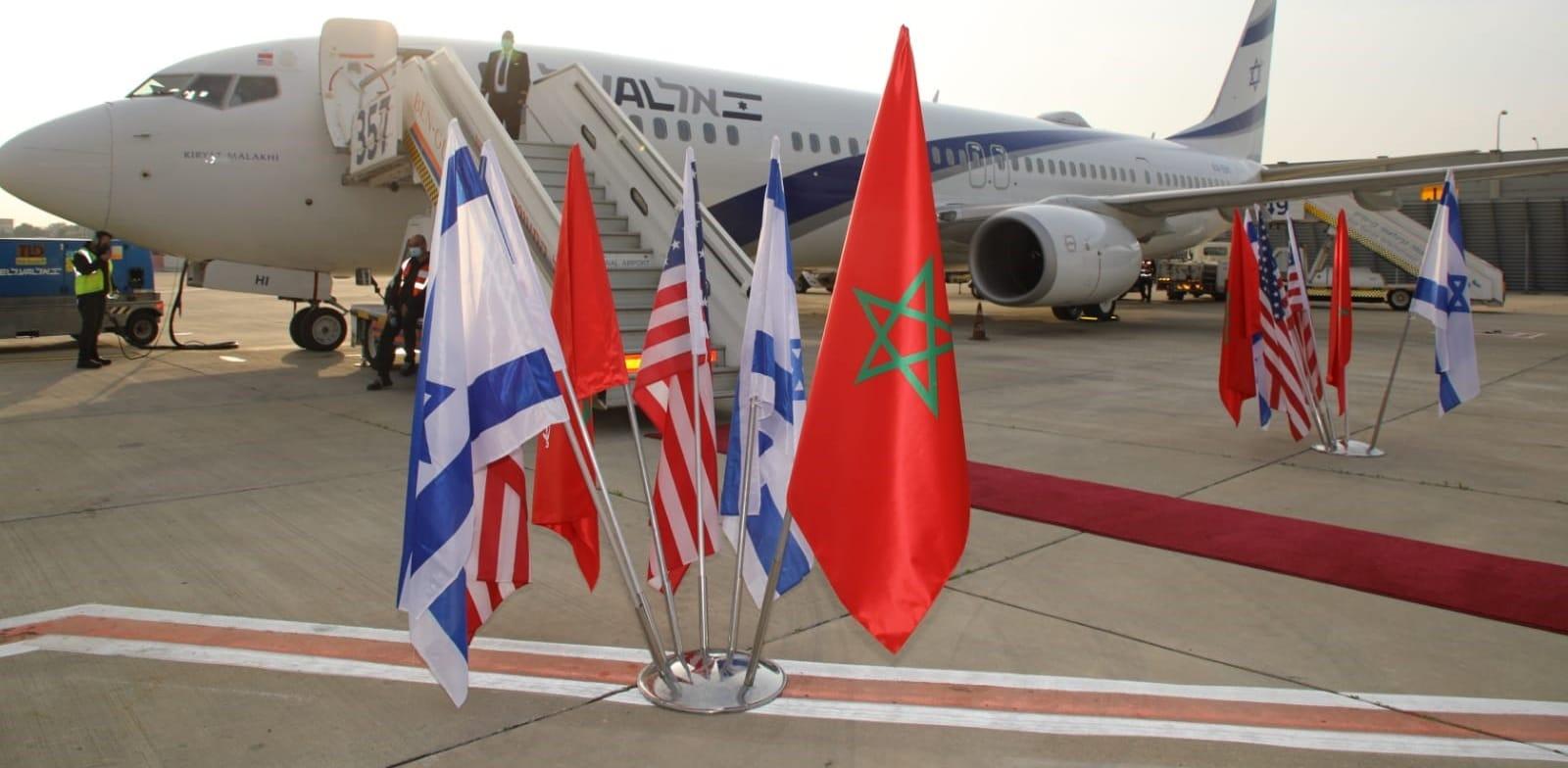 מטוס אל על למרוקו / צילום: סיון פרג'