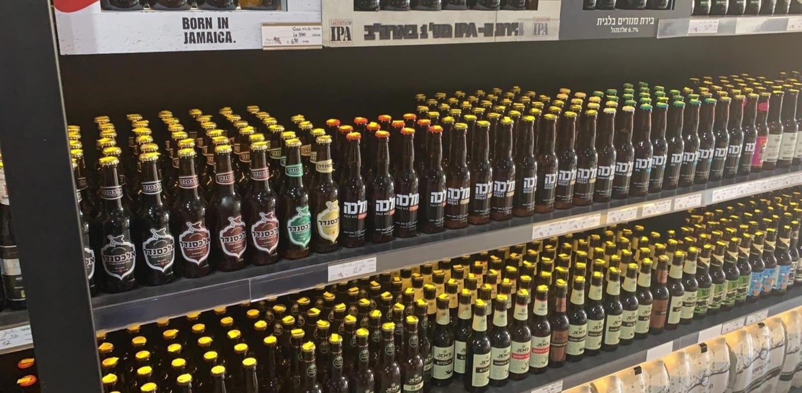 יקבי כרמל נכנסת לתחום הבירה / צילום: משה כהן