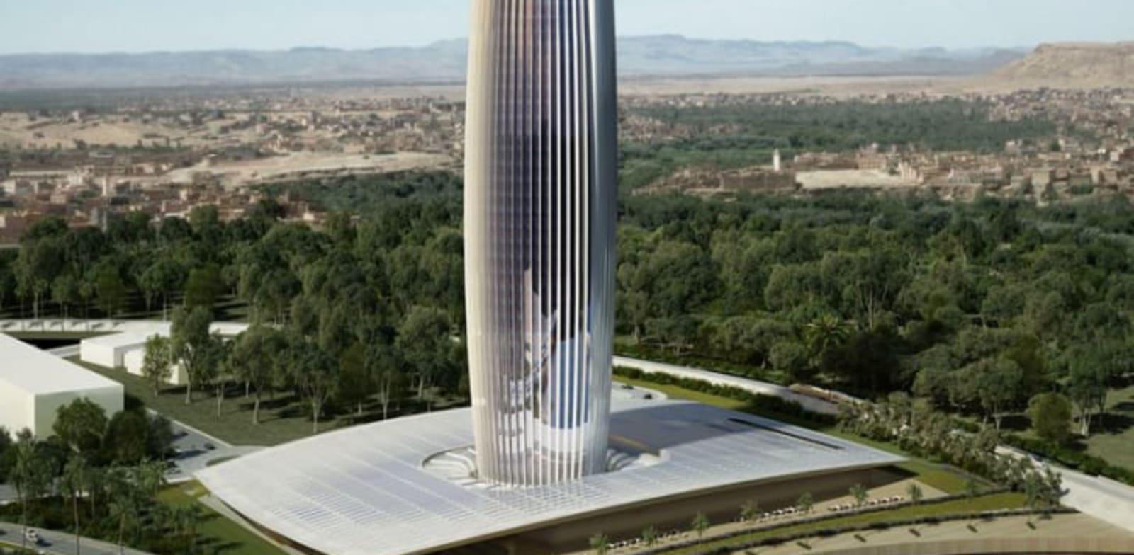 מגדל בנק אוף אפריקה, רבאט / הדמיה: BEXIS