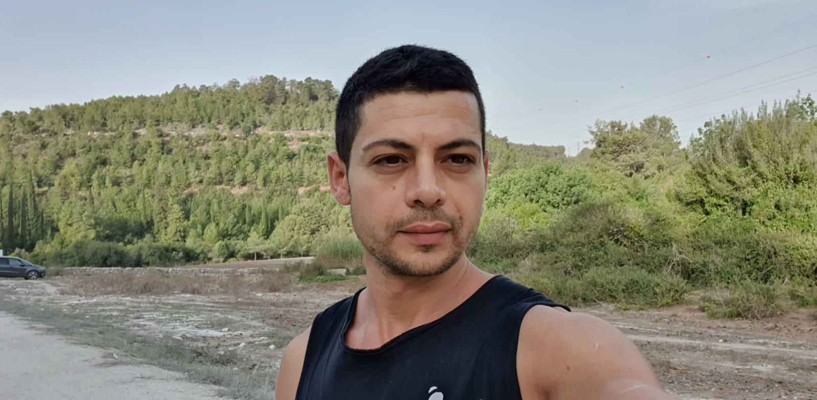 גרמן פסח, בן 35, בעלים משותף של שני בארים בחדרה / צילום: שירי דובר