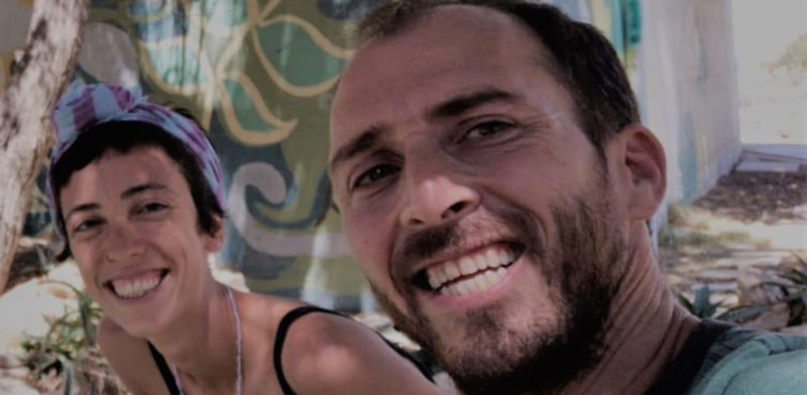 אייל אלכסנדר ושיר אמיר, מדריכי סיורים במצפה רמון / צילום: תמונה פרטית
