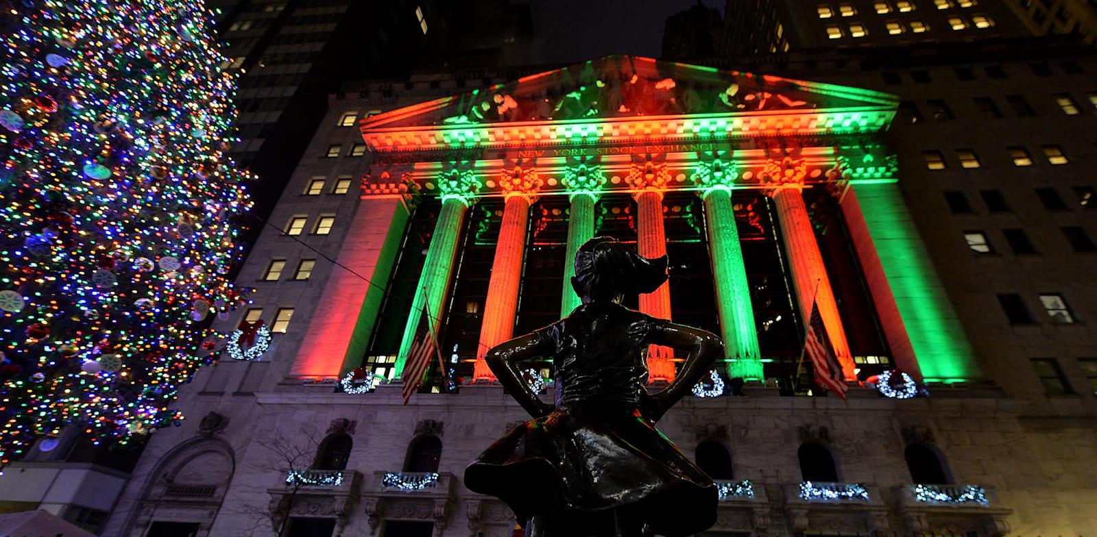 השנה בוול סטריט שכולם רוצים לשכוח. חוץ מהמשקיעים / צילום: Reuters, Anthony Behar