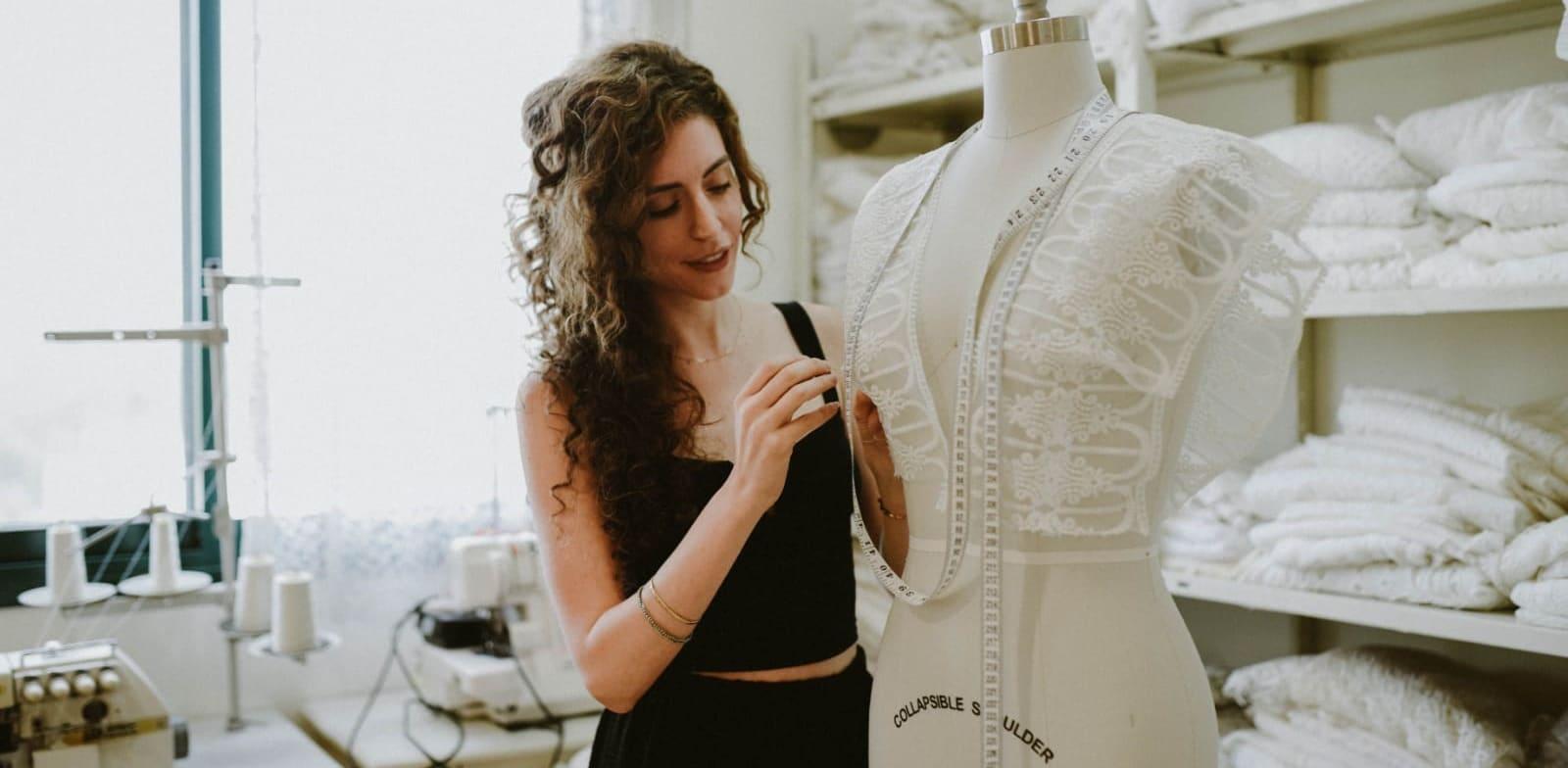 רננה גיתית אורן, מעצבת שמלות כלה / צילום: תמונה פרטית