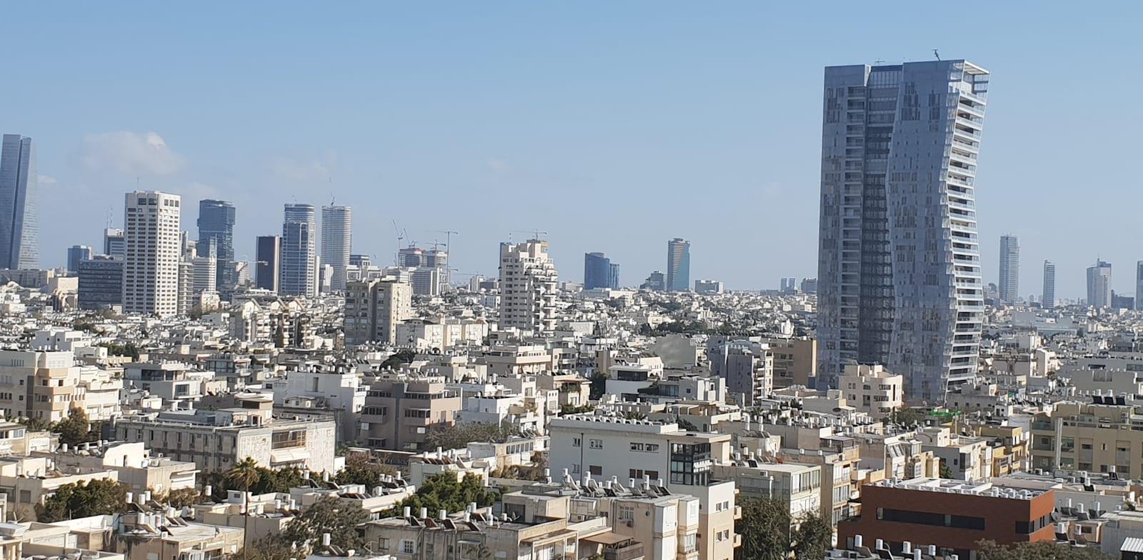 Dan tower Tel Aviv Credit: Guy Lieberman