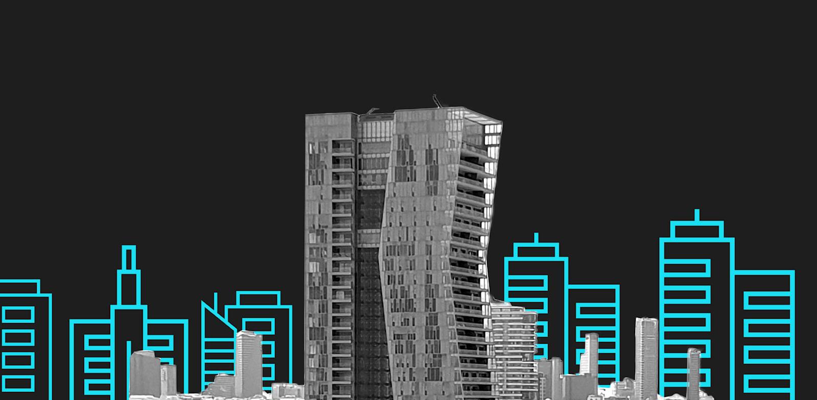 מגדל דן. כתבות הנדלן שעשו את השבוע / עיצוב: טלי בוגדנובסקי