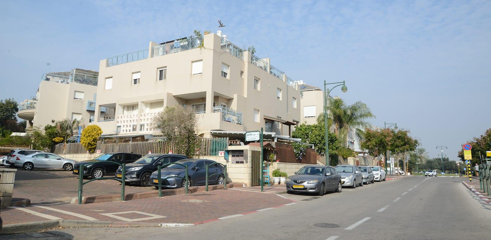 שכונת מליבו  בנס ציונה. דירות גדולות ומחירים גבוהים / צילום: איל יצהר