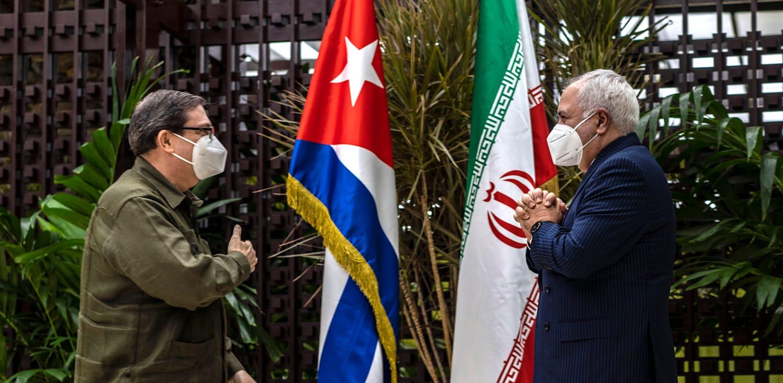 פגישת שרי החוץ של איראן וקובה בהוואנה / צילום: Associated Press, Ramon Espinosa