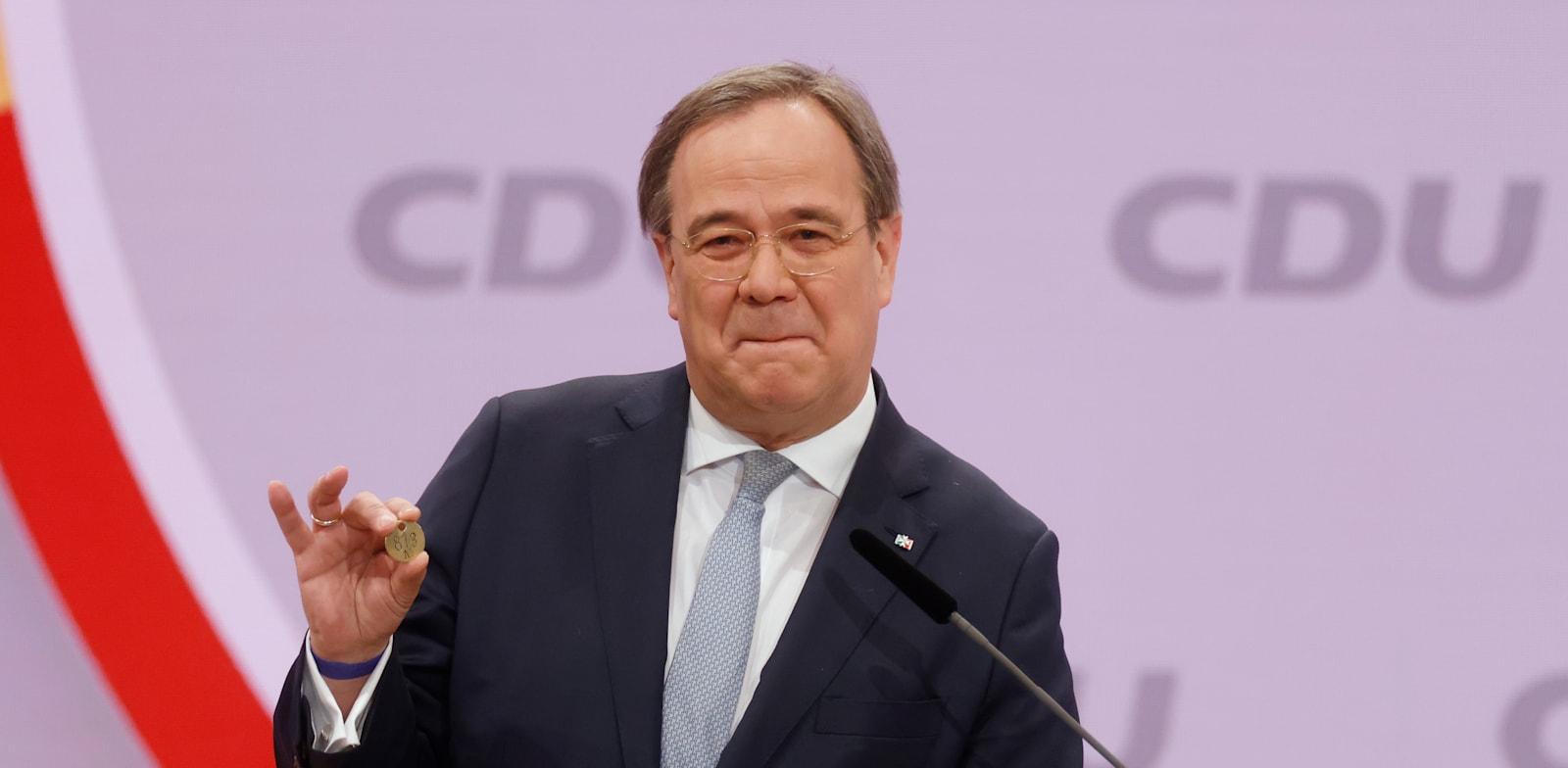 ארמין לאשט, מנהיג מפלגת השלטון הגרמנית הנבחר / צילום: Associated Press, Odd Andersen