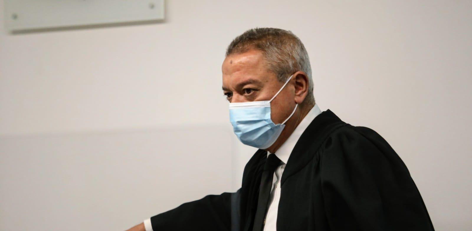 השופט חאלד כבוב בדיון של אמיר ברמלי, היום / צילום: שלומי יוסף