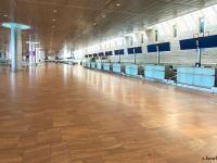 """בעקבות הקורונה: שדה תעופה נתב""""ג ריק מנוסעים / צילום: יוסי פתאל"""