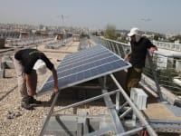 השקת שדה סולרי בכנסת - אנרגיה ירוקה / צילום: דוברות הכנסת