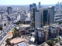 """מגדלי משרדים ת""""א / צילום: תמר מצפי"""
