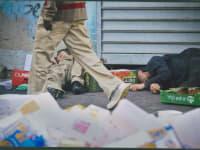 הומלס - עוני - זבל / צילום: דימה וזינוביץ