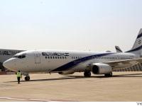 FW:  טיסת אל על עם  משלחת ישראלית לדובאי משדה תעופה בן גוריון / צילום: סיון פרג'