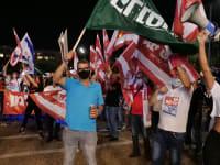 הפגנה של עצמאים נגד מדיניות הממשלה