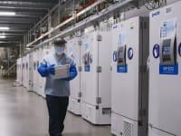 המקררים במעבדת פייזר / צילום: Reuters