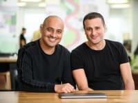 יוני אביטל ואסף גנות, מייסדי חברת קונטרולאפ / צילום: David Garb