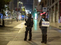 מדריד מטילה סגרים ליליים מקומיים כדי להמנע מסגר כללי / צילום: Associated Press, Manu Fernandez