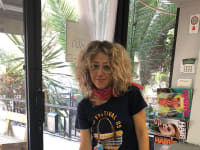 אנה טרטקובסקי, ספרית מתל אביב / צילום: איל יצהר