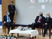 ראש הממשלה ורעייתו שרה בכנסת / צילום: גלובס