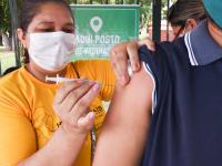 חיסון במסגרת הניסוי של פייזר. בעולם מתחילים להיערך למבצע מורכב / צילום: Reuters, Ingrid Anne