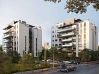 רחוב קורצ'אק 5–7, קרית אונו / צילום: זיתוני הדמיות אדריכליות