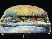 ההמבורגר העבש של ברגר קינג.  בעתיד נזכור שאין בו חומרים משמרים / צילום: מתוך הקמפיין