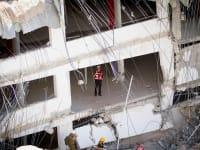 החניון שקרס. העלה את נושא הבטיחות לסדר היום הציבורי / צילום: שלומי יוסף