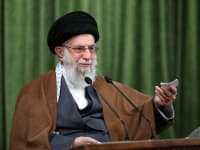 עלי חמינאי / צילום: Associated Press, Office of the Iranian Supreme Leader
