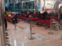 ישראלים תקועים בשדה התעופה בדובאי / צילום: קבוצת חו״ל מהודר