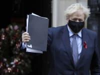 ראש ממשלת בריטניה בוריס ג'ונסון / צילום: Associated Press, Kirsty Wigglesworth