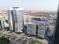 פרויקט משרדים של לוינשטין וכלל במרכז העסקים בבאר שבע / צילום: ברעלי לויצקי כסיף אדריכלים