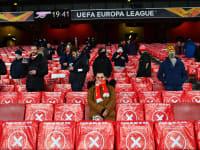 משחקה של ארסנל האנגלית בשבוע שעבר / צילום: Reuters, Dylan Martine