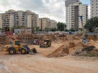 חפירות חניון במרכז הארץ. כשל משמעותי במצב הקיים / צילום: Shutterstock