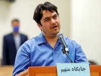 העיתונאי רוהולה זאם, במשפטו ביוני / צילום: Reuters, Mizan News Agency/WANA