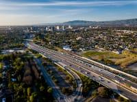 צילום מרחפן של עמק הסיליקון בקליפורניה / צילום: Shutterstock, Shutterstok