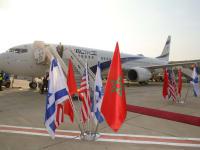 המטוס למרוקו / צילום: סיון פרג'