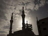 """מסגד בכפר קאסם. """"המערב הפרוע"""" קם מחדש לתחיה ביישובי המגזר הערבי / צילום: Associated Press, Oded Balilty"""