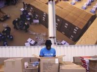 מחסן של UNICEF שבו נעשית עבודת ההכנה לפרויקט COVAX / צילום: Associated Press