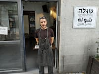 חמי פסקא. השף והבעלים / צילום: חיליק גורפינקל