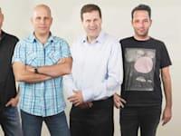 מימין: עדי ברונר, גיל סמסונוב, רונן גולדשמידט ויגאל שמיר / צילום: גליקמן־שמיר־סמסונוב