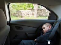 ילד שנשכח ברכב / צילום: Shutterstock, Ruslan Shugushev